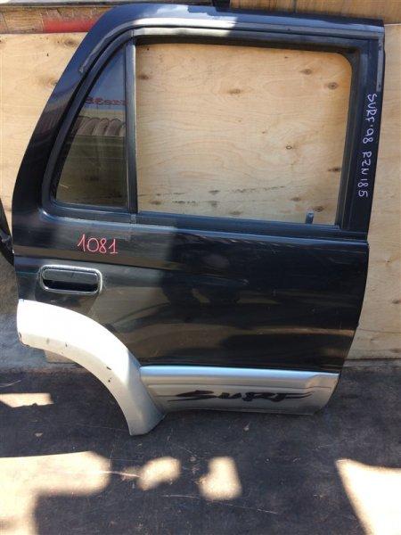 Дверь боковая Toyota Hilux Surf RZN185 5VZ 1998 задняя правая 1081 (б/у)