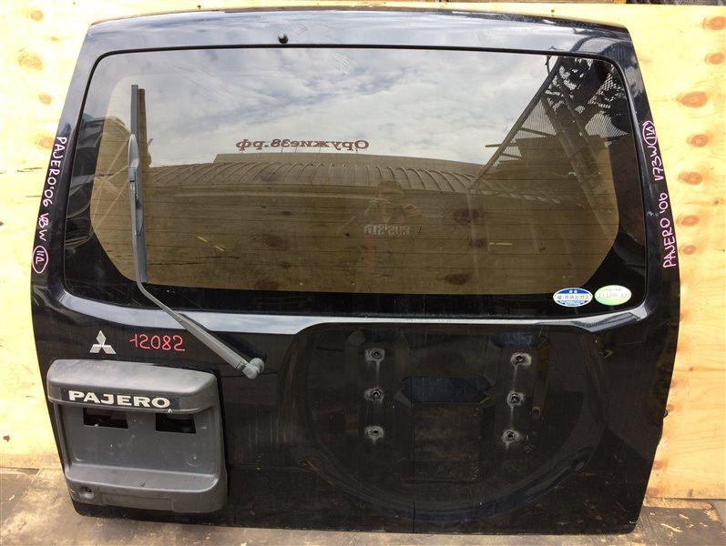 Дверь багажника Mitsubishi Pajero V75W 2006 12082 (б/у)