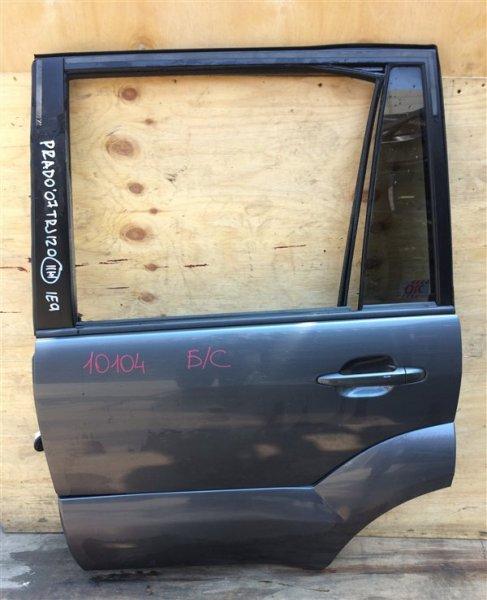 Дверь боковая Toyota Land Cruiser Prado GRJ120 2007 задняя левая 10104 Снято стекло. (б/у)