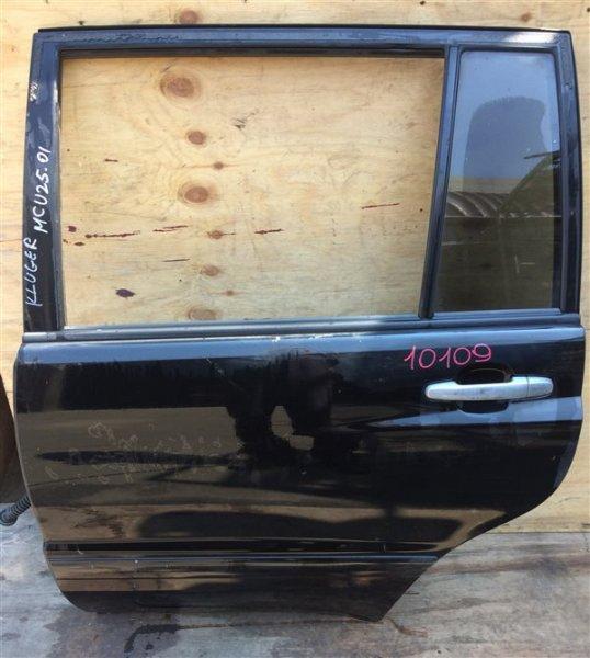 Дверь боковая Toyota Kluger MCU25 2AZ 2001 задняя левая 10109 (+20.05.20) (б/у)