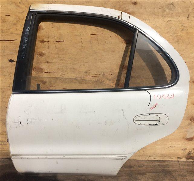 Дверь боковая Toyota Sprinter AE100 1994 задняя левая 10129 (б/у)