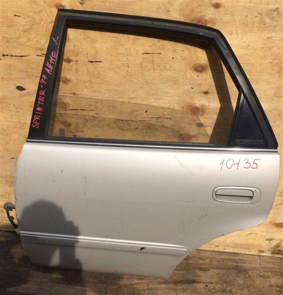 Дверь боковая Toyota Sprinter AE110 1999 задняя левая 10135 (б/у)