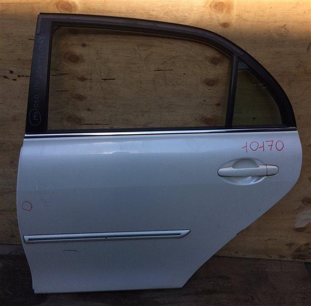 Дверь боковая Toyota Corolla Axio NZE141 2007 задняя левая 10170 Дефект (см. фото). (б/у)