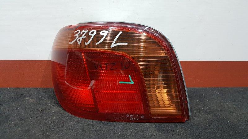 Задний фонарь Toyota Vitz SCP10 задний левый 52-041 Рестайл. (б/у)