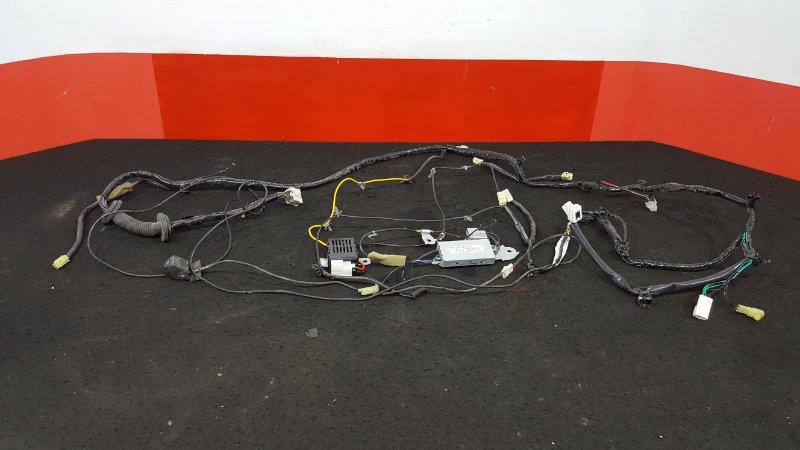Проводка двери Subaru Outback BR9 EJ25 задняя Проводка двери багажника, с камерой заднего  (б/у)
