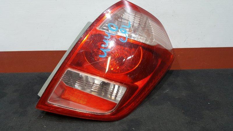Задний фонарь Toyota Ractis NCP100 задний правый 52-159 Дорестайл. (б/у)