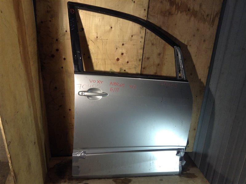 Дверь боковая Toyota Voxy AZR60 2002 передняя правая 70405 (+21.05.20) Снят стеклоподъемник. 11ВТ (б/у)