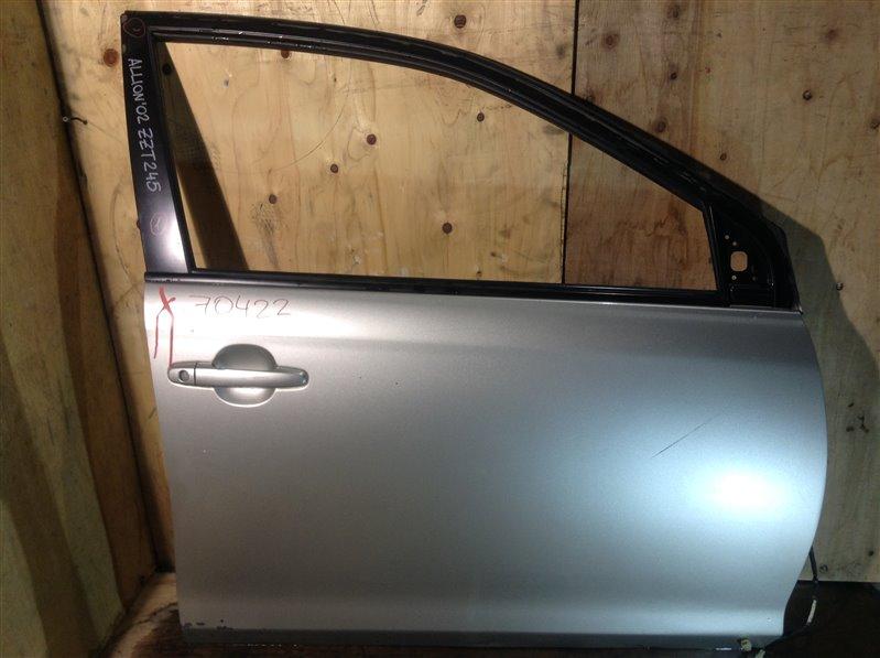 Дверь боковая Toyota Allion NZT240 2002 передняя правая 70422 (+21.05.20) 11ВТ (б/у)
