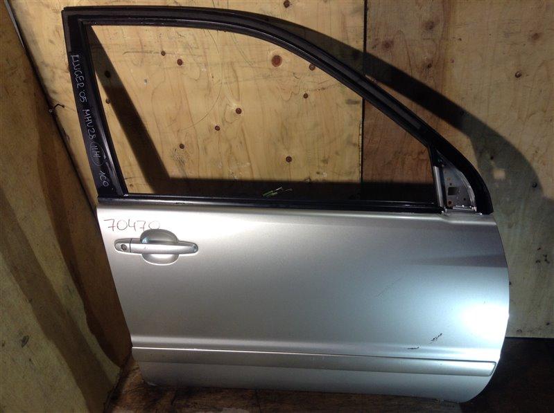 Дверь боковая Toyota Kluger MCU25 2AZ 2005 передняя правая 70470 11ВТ (б/у)
