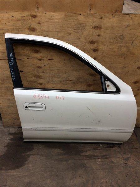 Дверь боковая Toyota Cresta GX90 1994 передняя правая 10254 Снят стеклоподъемник. (б/у)