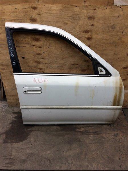 Дверь боковая Toyota Cresta GX100 1999 передняя правая 10255 (б/у)