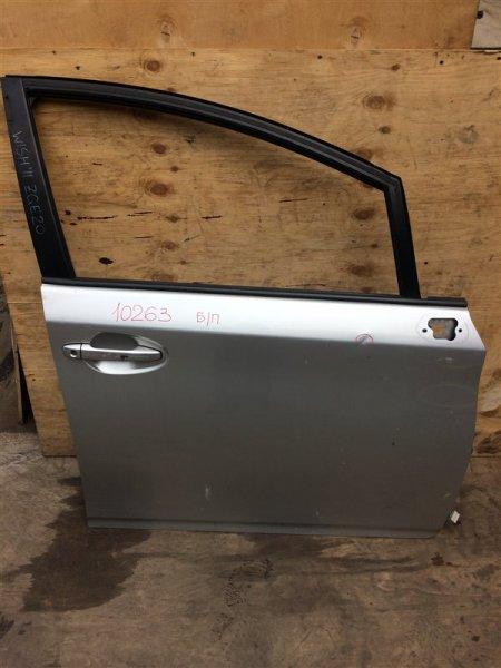 Дверь боковая Toyota Wish ZGE20 2011 передняя правая 10263 Снят стеклоподъемник. (б/у)