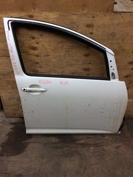 Дверь боковая Toyota Wish ZNE10 2003 передняя правая 10264 Снят стеклоподъемник. (б/у)