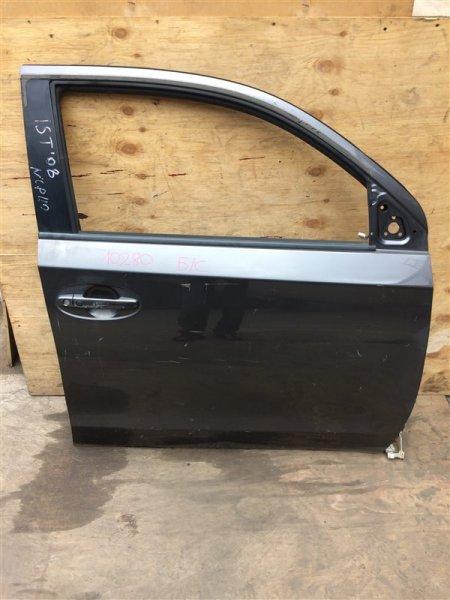 Дверь боковая Toyota Ist NCP110 2008 передняя правая 10280 Снято стекло. (б/у)