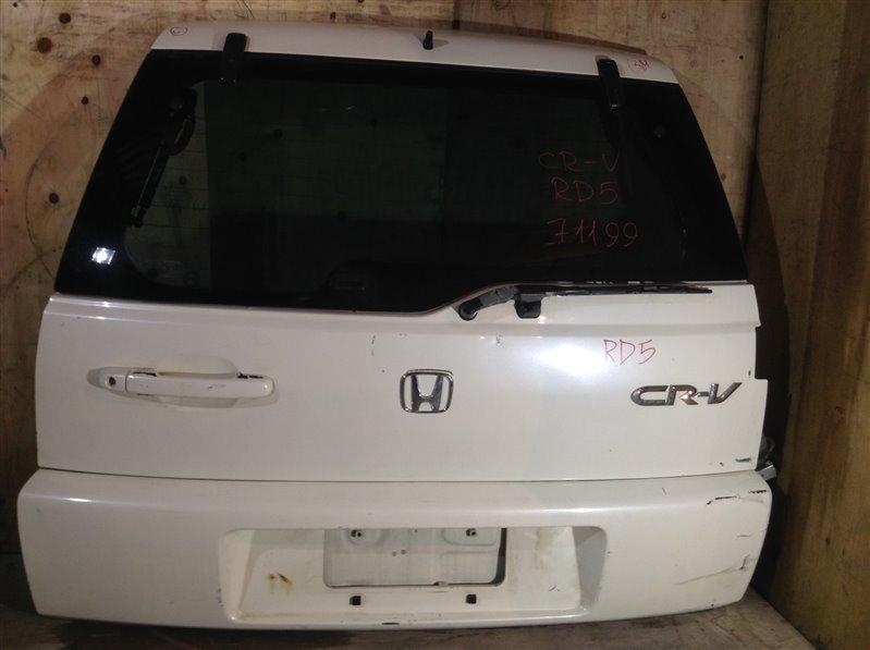 Дверь багажника Honda Cr-V RD4 задняя 71199 (+14.05.20) С камерой заднего вида. (б/у)