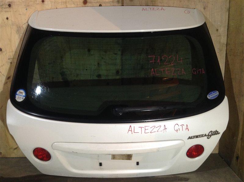 Дверь багажника Toyota Altezza Gita GXE10 задняя 71224 (+14.05.20) (б/у)