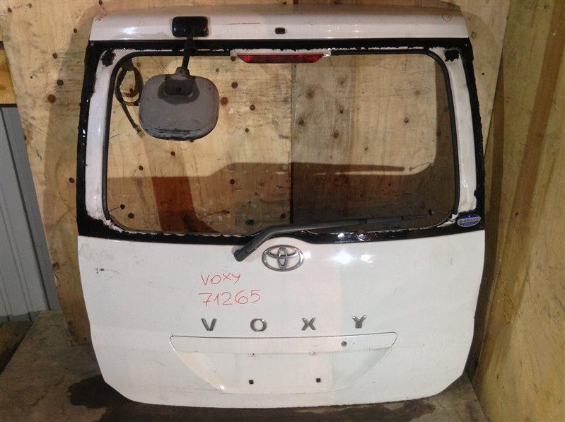Дверь багажника Toyota Voxy AZR60 задняя 71265 (+14.05.20) Без стекла. (б/у)