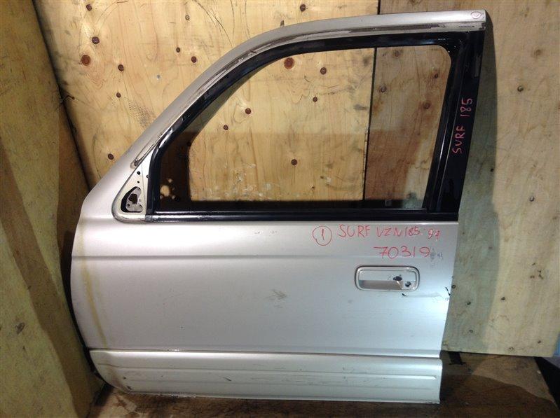 Дверь боковая Toyota Hilux Surf RZN180 5VZ 1997 передняя левая 70319 (+19.05.20) 1ВТ Цена указана за (б/у)