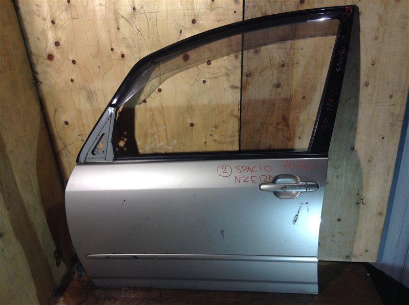Дверь боковая Toyota Corolla Spacio NZE121 передняя левая 70344 (+19.05.20) 1ВТ Цена указана за голую (б/у)
