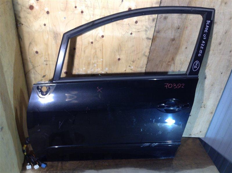 Дверь боковая Toyota Blade AZE154 2007 передняя левая 70392 (+19.05.20) 11Д Цена указана за голую (б/у)