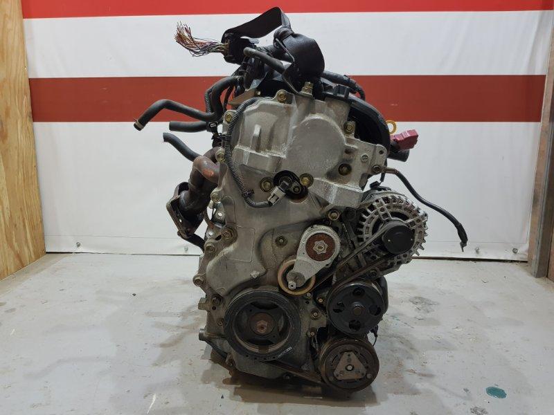 Заслонка дроссельная Nissan Tiida JC11 MR18DE 2005 (б/у)