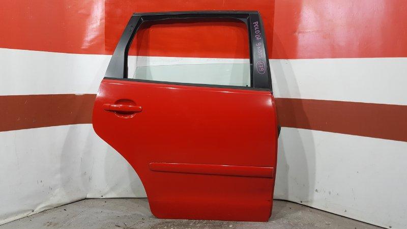 Замок двери Volkswagen Polo 9N3 BTS 2007 задний правый (б/у)