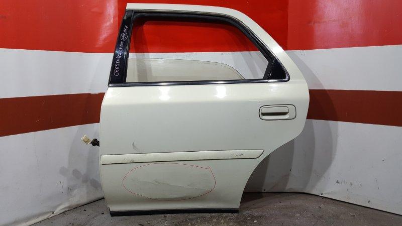 Замок двери Toyota Cresta GX100 1G 1997 задний левый (б/у)