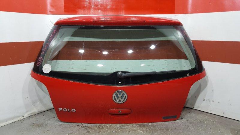 Дверь багажника Volkswagen Polo 9N3 BTS 2007 6Q6827505E, 6Q6827565G (б/у)