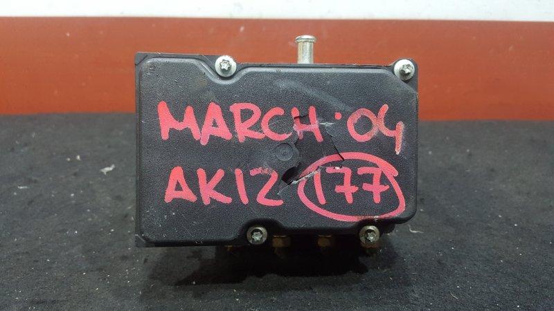 Блок abs Nissan March AK12 CR12DE 2004 (б/у)