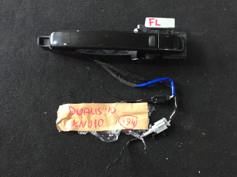 Ручка двери Nissan Dualis KNJ10 MR20DE 2010 передняя левая 80640-JD34C (б/у)