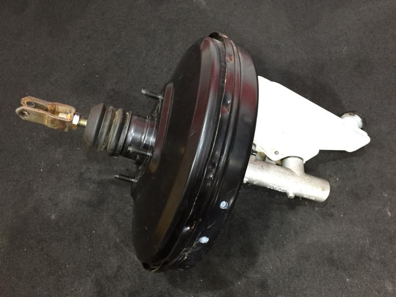 Вакуумный усилитель тормозов Nissan March AK12 CR12DE 2004 ГТЦ + вакуумный усилитель (б/у)