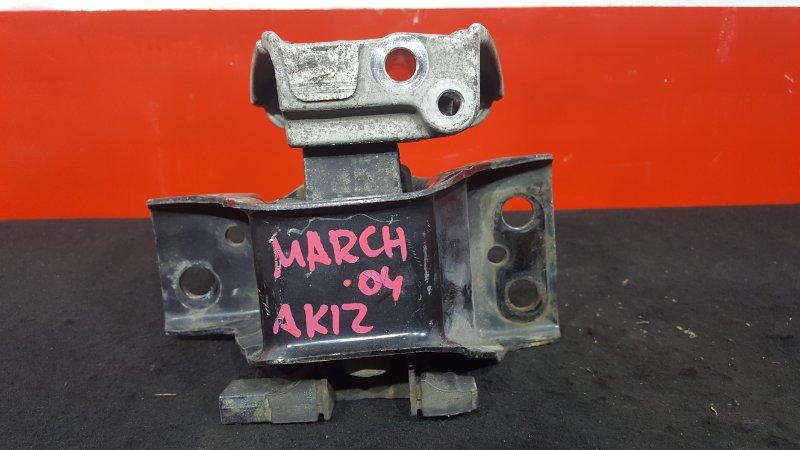 Подушка двигателя Nissan March AK12 CR12DE 2004 правая (б/у)
