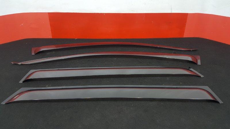 Комплект ветровиков Toyota Corolla Fielder NZE121 1NZ 2005 (б/у)
