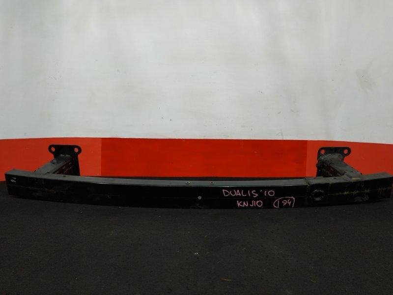 Жесткость бампера Nissan Dualis KNJ10 MR20DE 2010 передний (б/у)