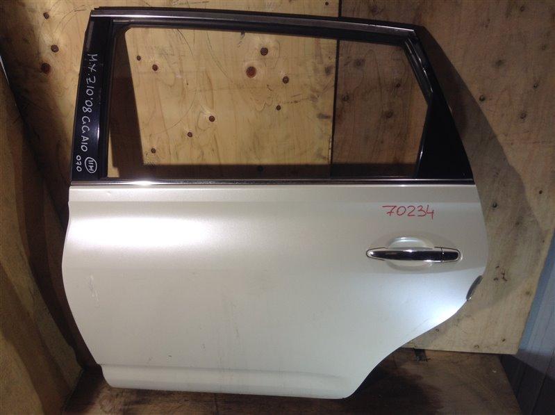 Дверь боковая Toyota Mark X Zio ANA10 2008 задняя левая 70234 (+20.05.20) Небольшие вмятины (см. фото).  (б/у)