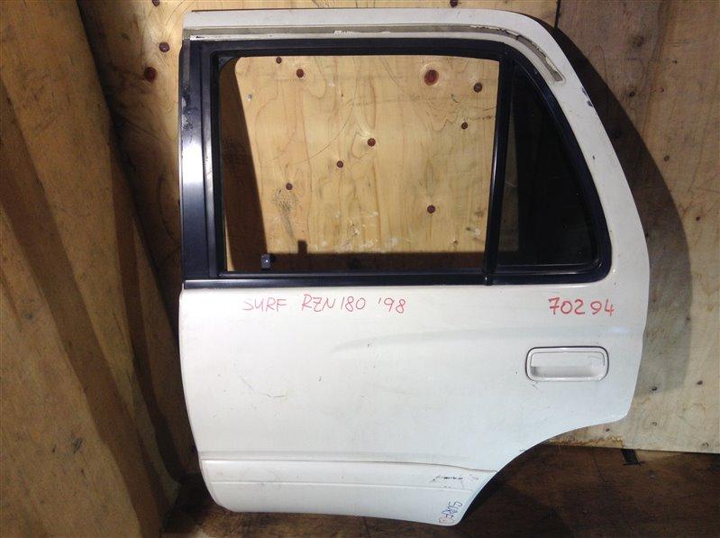 Дверь боковая Toyota Hilux Surf RZN185 5VZ 1998 задняя левая 70294 (+20.05.20) 4В.[T] Цена указана за (б/у)