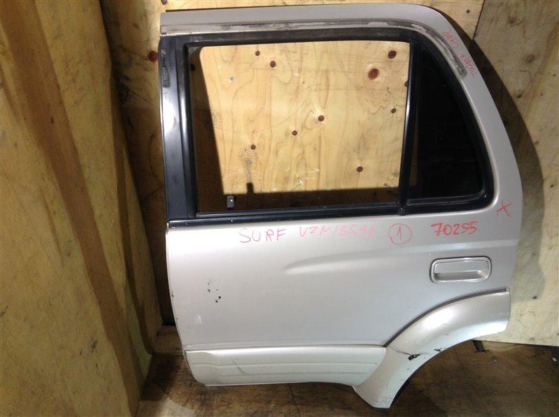 Дверь боковая Toyota Hilux Surf RZN185 5VZ 1997 задняя левая 70295 (+20.05.20) 4В.[T]Цена указана за голую  (б/у)