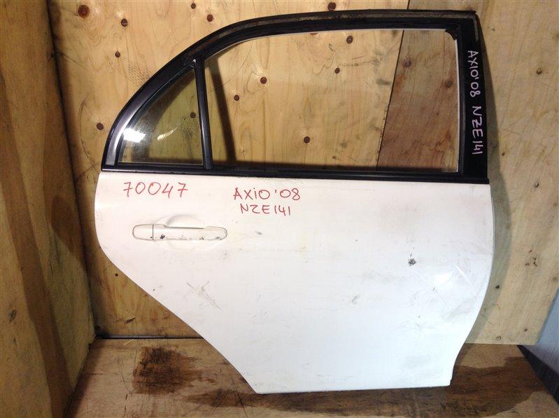 Дверь боковая Toyota Corolla Axio NZE141 2008 задняя правая 70047 (+20.05.20) 9В.[T] (б/у)