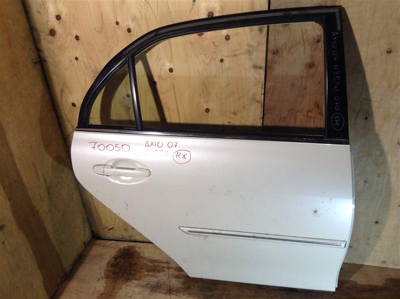 Дверь боковая Toyota Corolla Axio NZE141 2007 задняя правая 70050 (+20.05.20) 9В.[T] (б/у)
