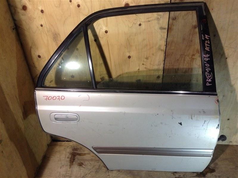 Дверь боковая Toyota Corona Premio AT210 1997 задняя правая 70070 (+20.05.20) Потертости (см. фото). 10В (б/у)