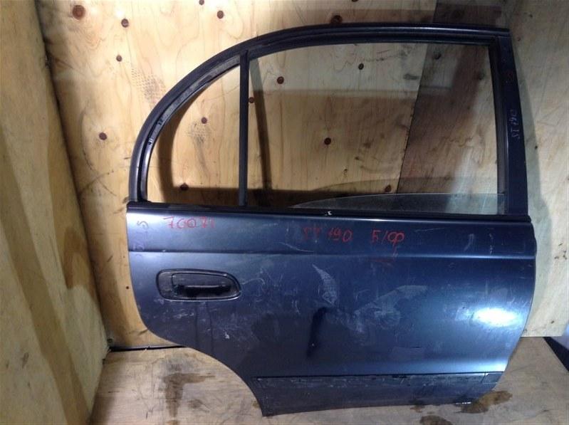 Дверь боковая Toyota Corona ST190 задняя правая 70071 (+20.05.20) Снята форточка. 10В.[T] Цена (б/у)
