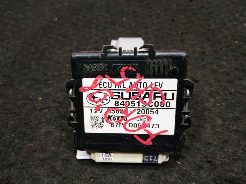 Блок управления светом Subaru Forester SH5 2008 84051SC000 / 35600-20054 8 ящик (б/у)