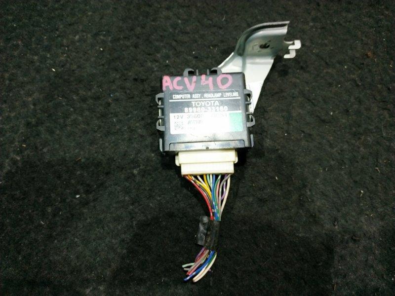 Блок управления светом Toyota Camry ACV40 2AZ 35600-78554 8 ящик (б/у)