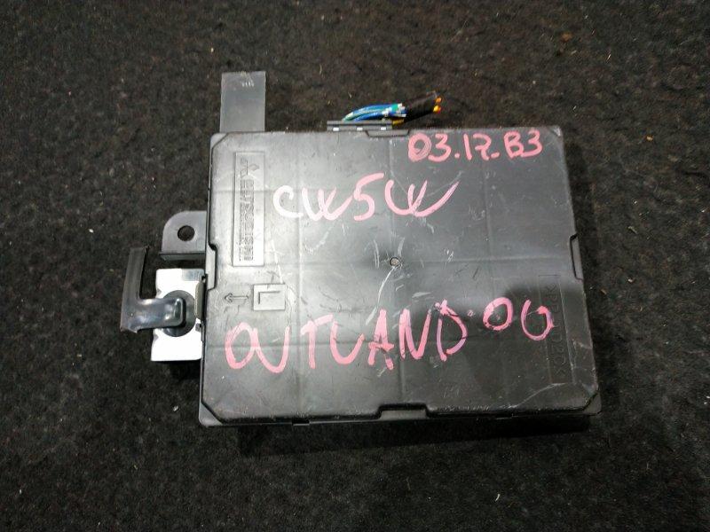 Блок управления климат-контролем Mitsubishi Outlander CW5W 4B12 2006 7820A054 8 ящик (б/у)