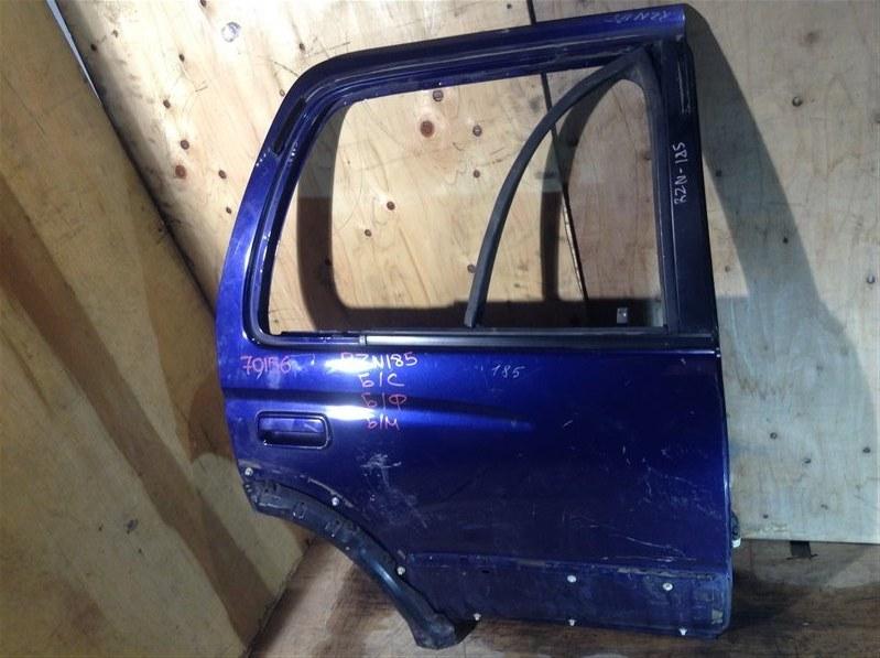 Дверь боковая Toyota Hilux Surf RZN180 5VZ 1997 задняя правая 70156 (+20.05.20) Снято стекло, форточка, (б/у)