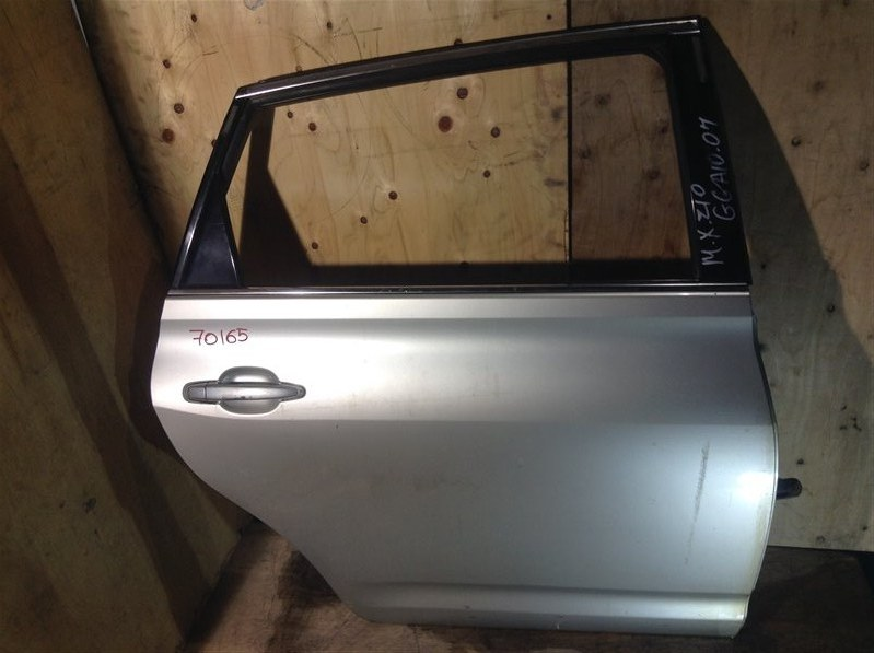 Дверь боковая Toyota Mark X Zio ANA10 2007 задняя правая 70165 (+20.05.20) 7В.[T] (б/у)