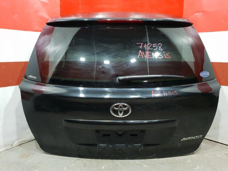 Дверь багажника Toyota Avensis AZT250 задняя 71258 (+14.05.20) (б/у)