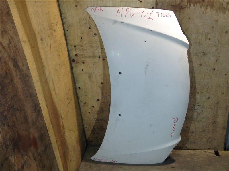 Капот Mazda Mpv LW3W L3 2001 71524 (+26.05.20) Дорестайл, 1-я модель. (б/у)