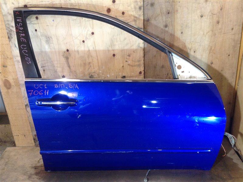 Дверь боковая Honda Inspire UC1 2003 передняя правая 70611 (+27.04.20) Снят стеклоподъемник, замок.  (б/у)
