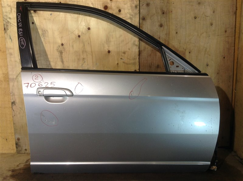 Дверь боковая Honda Civic Ferio ES1 2001 передняя правая 70625 (+27.04.20) Небольшие вмятины, (б/у)